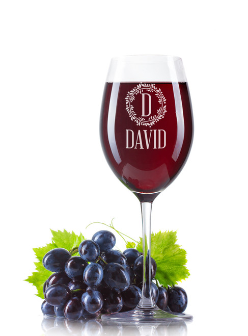 Personalised Wine Glass - Name