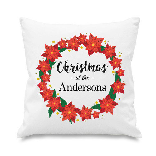 Cushion cover - Christmas Wreath