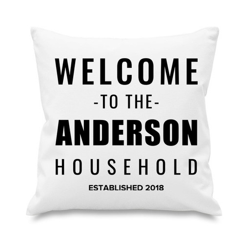 Cushion cover - Welcome