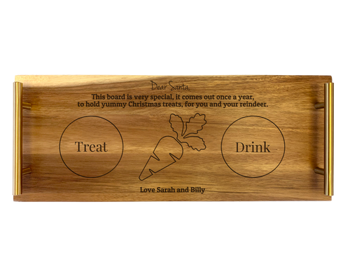 Personalised Serving Tray - Dear Santa
