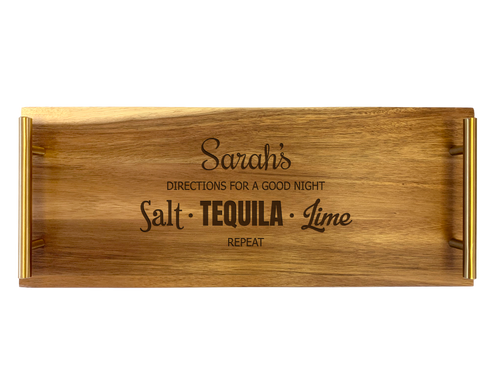 Personalised Serving Tray - Tequila