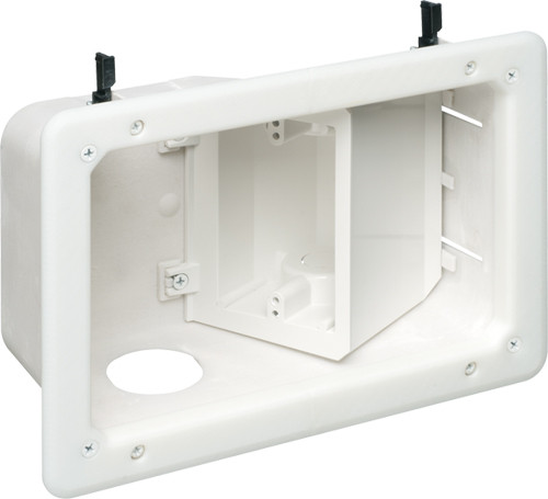 Recessed TV Box? with Angled Openings (TVB712)