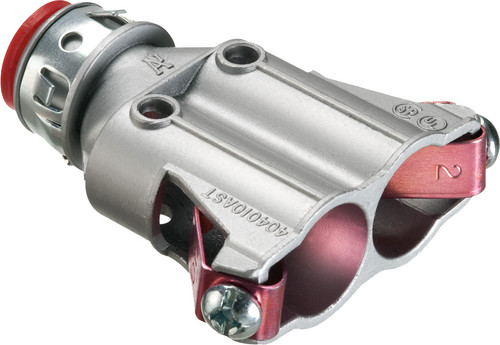 """3/8"""" Duplex Snap2It Connector w/ Insulated Throat Red (404010AST)"""