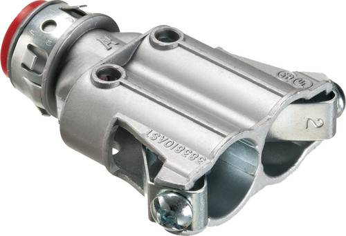 """3/8"""" Duplex Snap2It Connector w/ Insulated Throat (383810AST)"""