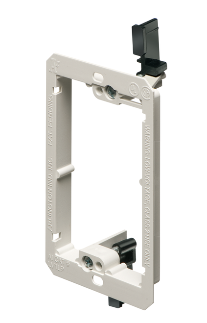Single Gang Low Profile Low Voltage Mounting Device Bracket (LV1LP)