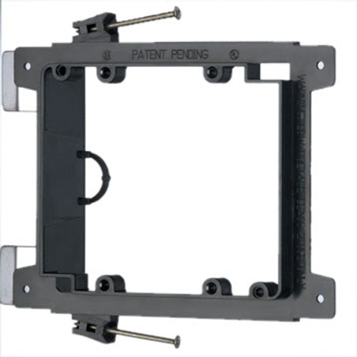 Double Gang Low Voltage Nail-In Mounting Device Bracket (LVN2)