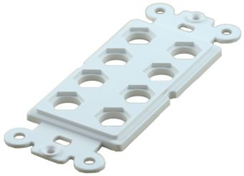 8 Cavity Decorator Style Insert White (TA-1156WH)