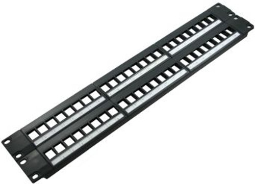 48 Port Blank High Density Patch Panel (TA-1007P-48HD)