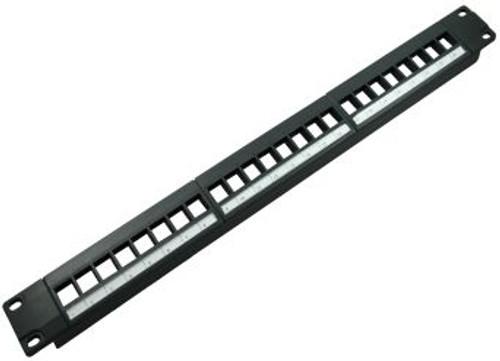 24 Port Blank High Density Patch Panel (TA-1007P-24HD)