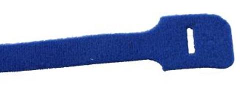 """9"""" Loop Velcro Cable Ties, 50lb, Blue, 10 PCs (J-200-50BL)"""