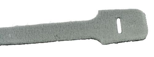 "13"" Loop Velcro Cable Ties, 40lb, Gray, 10 PCs (J-300-40GY)"