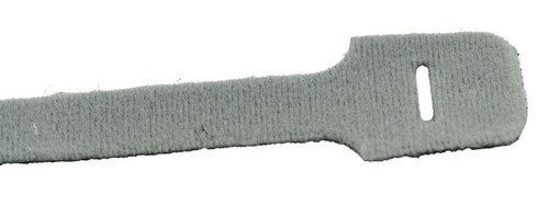 "9"" Loop Velcro Cable Ties, 40lb, Gray, 10 PCs (J-200-40GY)"