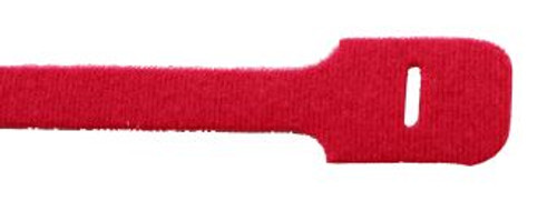 """9"""" Loop Velcro Cable Ties, 50lb, Red, 10 PCs (J-200-50RD)"""
