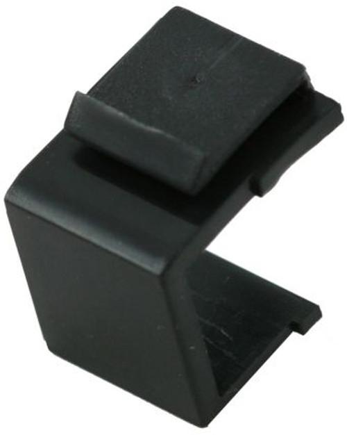 Black Blank Snap In Keystone Module (CA-2206BK)