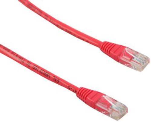 7FT Cat5e 350MHz Network RJ45 Network Cable - Red (D407RD-5)
