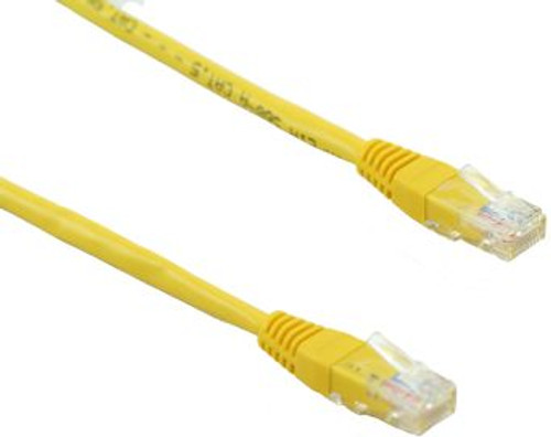 5FT Cat5e 350MHz Network RJ45 Patch Cable - Yellow (D405YW-5)