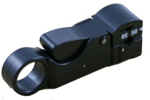 Three Blade Coax Stripper for LMR-195, RG-58, RG-59, RG-62 (CA-5930)