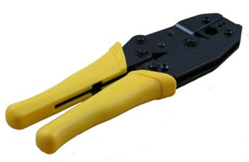 3 Cavity Hex Crimp Tool For LMR-400 w/ Ratchet (CA-5931)