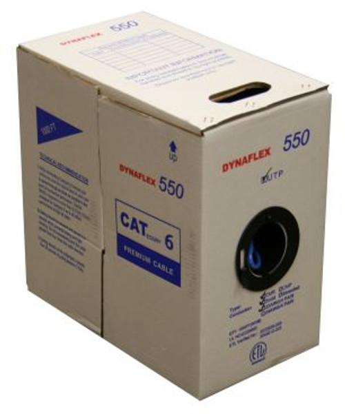 Cat6 UTP Solid CMR- Blue- 1000FT. Box (234PR6BL-1RB)