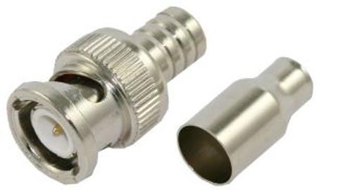 2 Piece RG-58 BNC Crimp Connector (CA-2007)