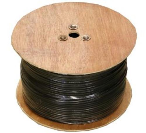 RG-6 Quad Shield Coaxial Cable- 1000FT Reel (6Q)