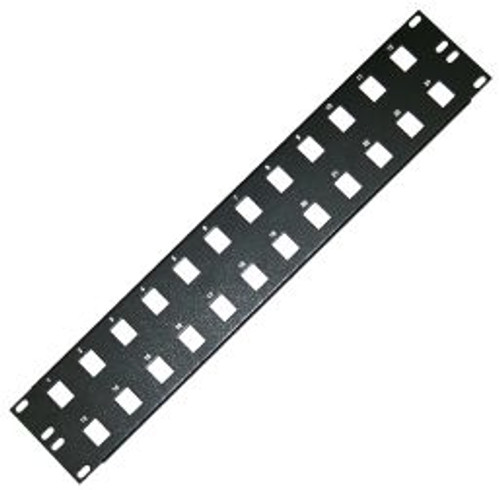 24 Port Blank Patch Panel (TA-1007P-24)