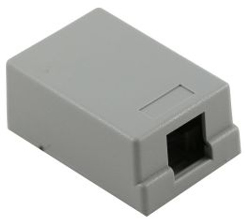 1 Port Gray Surface Mount Box (TA-5022GY)