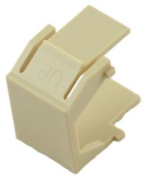 Ivory Blank Snap In Keystone Module (CA-2206IV)