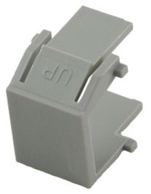 Gray Blank Snap In Keystone Module (CA-2206GY)