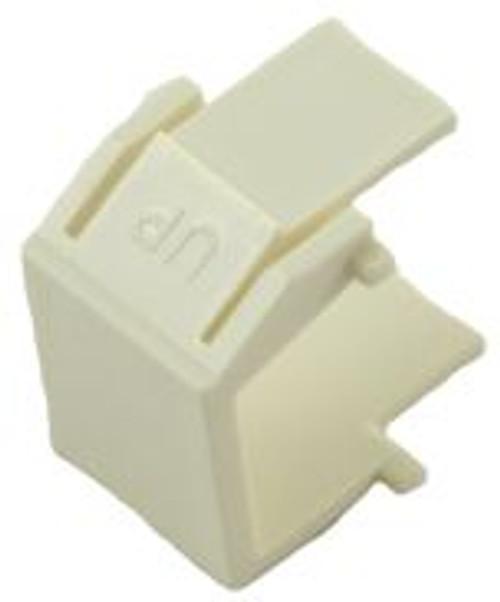 Almond Blank Snap In Keystone Module (CA-2206AL)