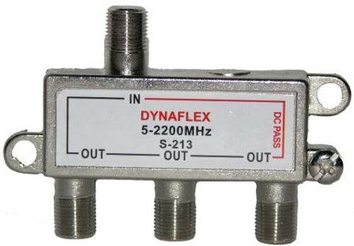 3 Way One Port Power Pass Splitter (S-213)