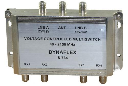 3 x 4 Satellite Multi-Switch (S-734)