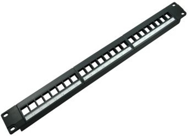 24 Port Blank High Density Patch Panel (TA-1007P-24HD)