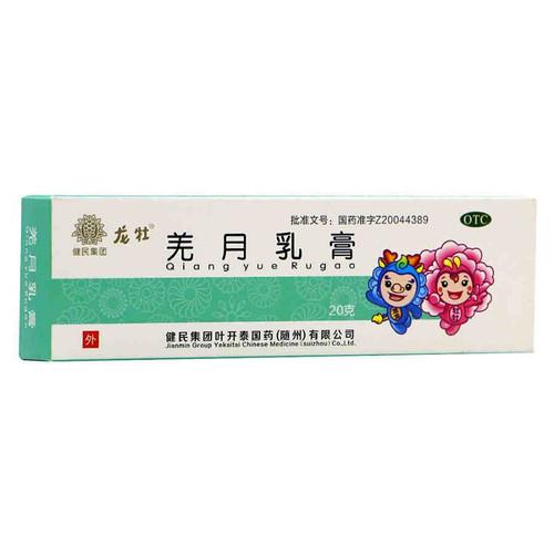 Jianmin Longmu Qiang Yue Ru Gao For Condyloma Acuminatum 20g Ointments