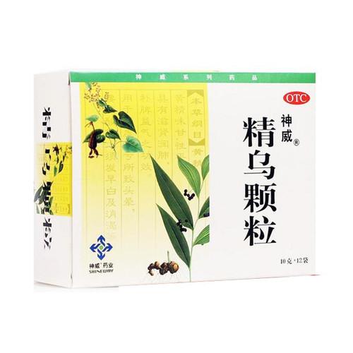 Shenwei Jing Wu Ke Li For Hair Loss 10g*12 Granules