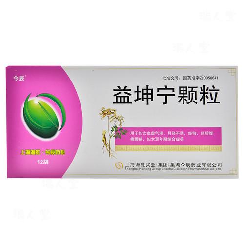 Jinchen Yi Kun Ning Ke Li For Menopause 3g*12 Granules