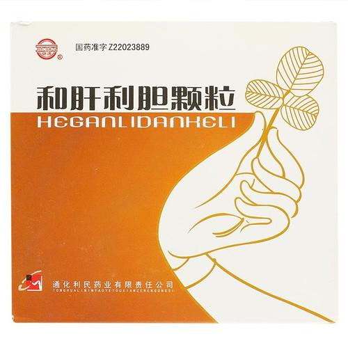 Jian Tong He Gan Li Dan Ke Li For Hepatitis 25g*10 Granules
