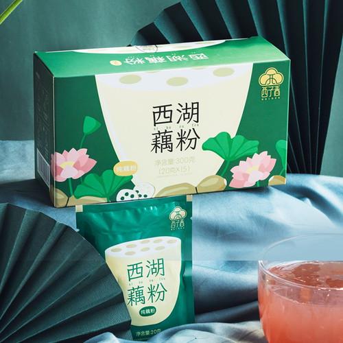 EFTON West Lake Lotus Root Starch Powder Meal Replacement 20g *15 Bags