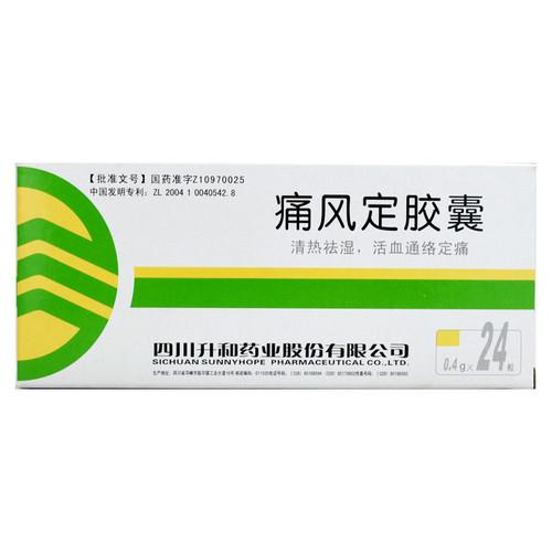 Shenghe Tong Feng Ding Jiao Nang For Gout 0.4g*24 Capsules