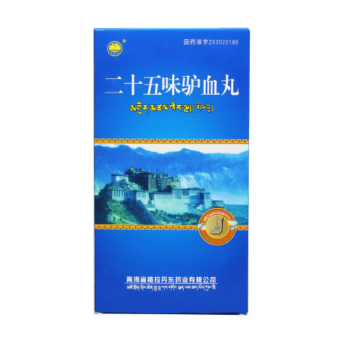 Geladandong Er Shi Wu Wei Lv Xue Wan For Arthritis 0.25g*18 Pills