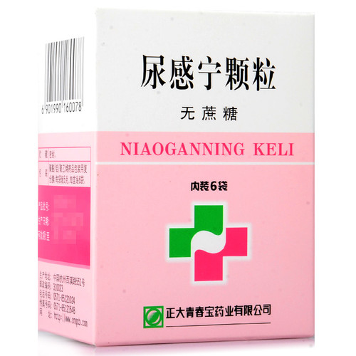 DENGFENG NIAOGANNING KELI For Urethritis 5g*6 Granules