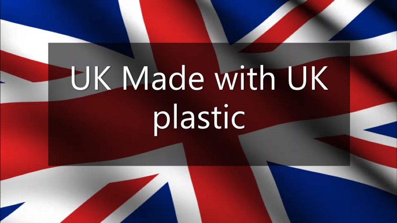 Uk Made with Uk Plastic
