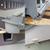 Adjustable ventilation, lockable door, removable back door with no lip for easy cleaning, quick release nest box lid