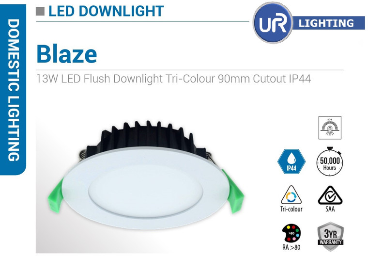 13W Tricolor LED Downlight CCT Changeable(3k,4k,5k)