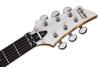 Schecter C-6 Floyd Rose Deluxe Satin White