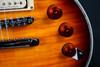 ESP LTD EC-1000 Amber Sunburst Electric Guitar