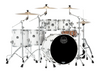 Mapex Saturn Studioease 5 Piece Shell Pack Without Snare Satin White (SR628XURM)