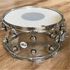 DW Design Snare 8x14 Clear Acrylic