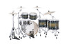 Mapex Armory Series Studioease Shell Pack Fast Toms Rainforest Burst (AR628SFUET)