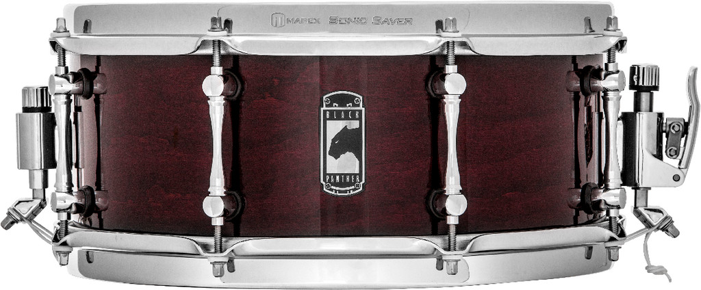 """Mapex Black Panther Cherry Bomb 13"""" x 5.5"""" Cherrywood Snare Drum"""